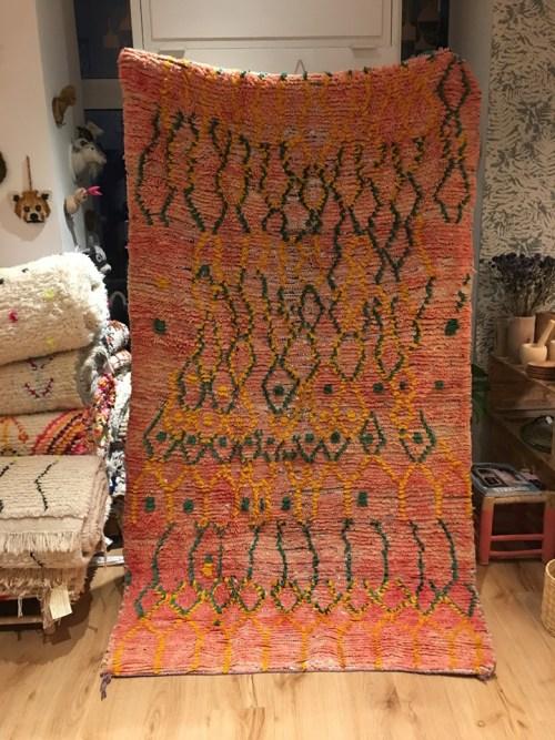 tapis vintage rouge