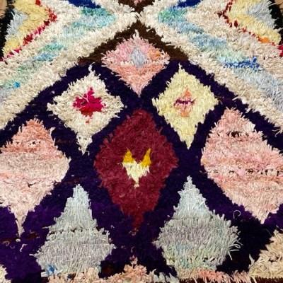 tapis berbère boucherouite