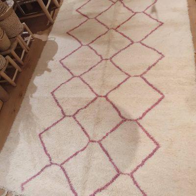 tapis beni ouarain en laine