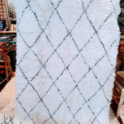 tapis berbère beni ouarain en laine