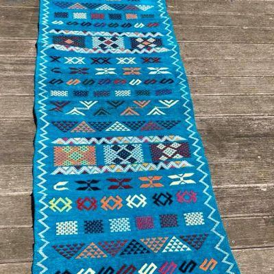 tapis kilim couloir en velours