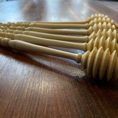 cuillère à miel en bois de citronnier