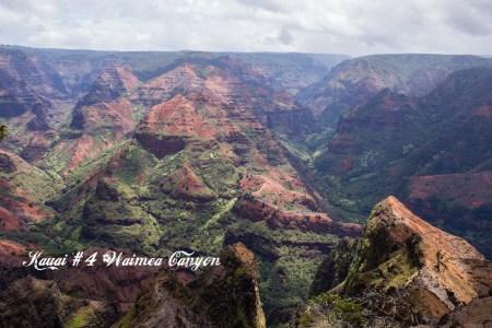 Kauai #4 Le panorama du Waimea Canyon
