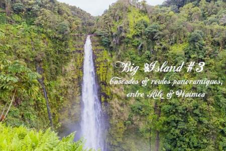 Big Island #3 de cascades en route panoramique entre Hilo et Waimea