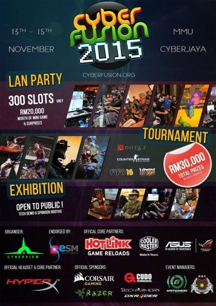 CyberFusion 2015 Poster