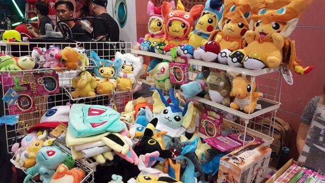 Siapa peminat Pokemon? Kebanyakkan barang mainan nih hanya dapat dibeli di negara asing!