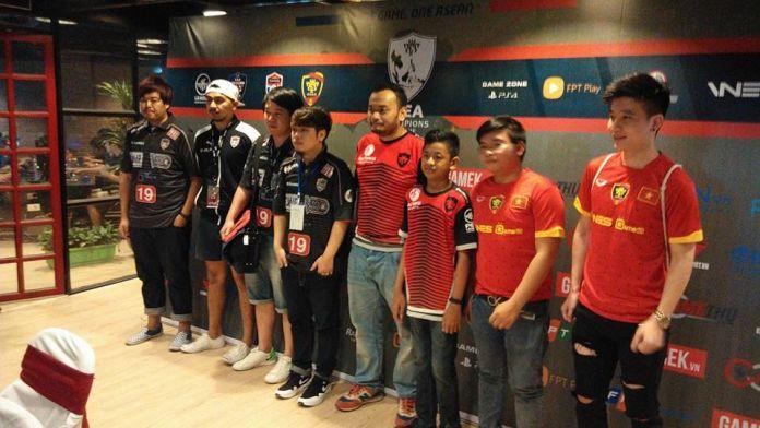 8 pemain PES terbaik Asia Tenggara. Kredit: PES League Asia