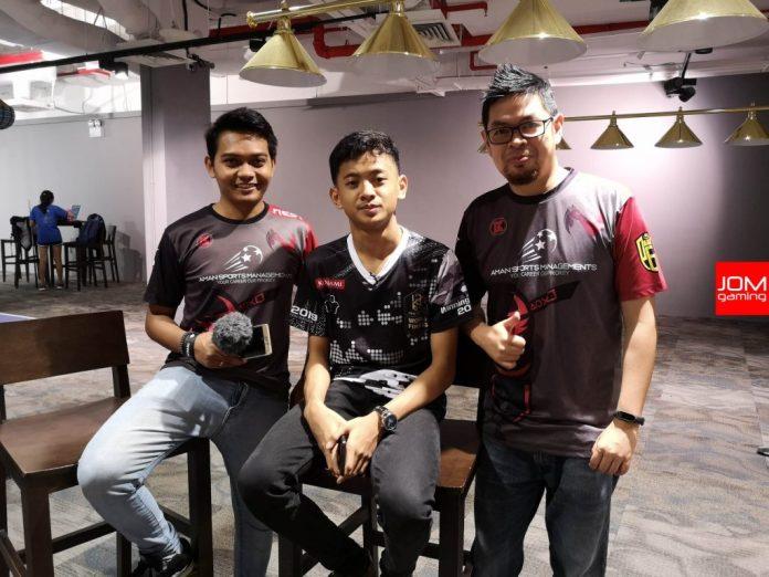 NEST Gaming bersama Rizky Faidan.