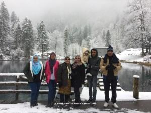 Tasik Blausee di Switzerland