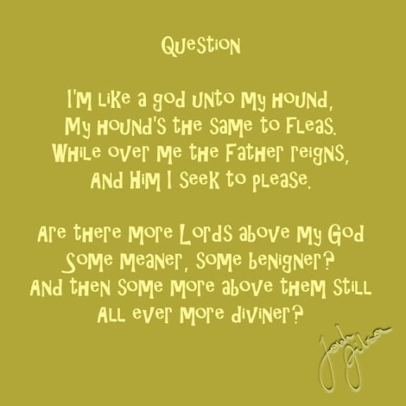 Graphic Poem - Question