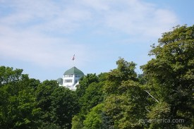 This is the cupola on the Grand Hotel