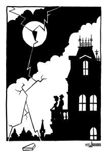 Dreigroschenoper-opera—musical-black&white-schwarzweiß-ink-tusche-bertold brecht-kurt weill-comic-illustration-animation-jonas-greulich