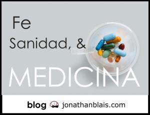 Sanidad de fe y Medicina