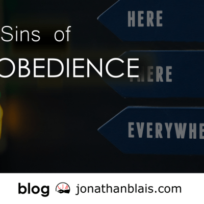 Sins of Obedience