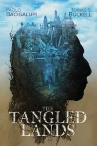 Book cover: The Tangled Lands