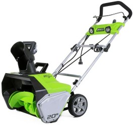 Greenworks electric snowthrower