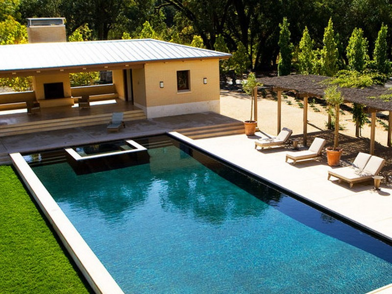 house pool and patio ideas interior