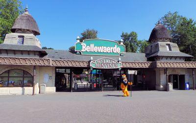 Bellewaerde, parc d'attraction en Belgique