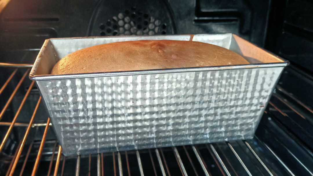 La cuisson du gâteau de Savoie