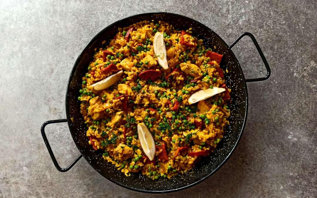 Poulet et chorizo façon paella