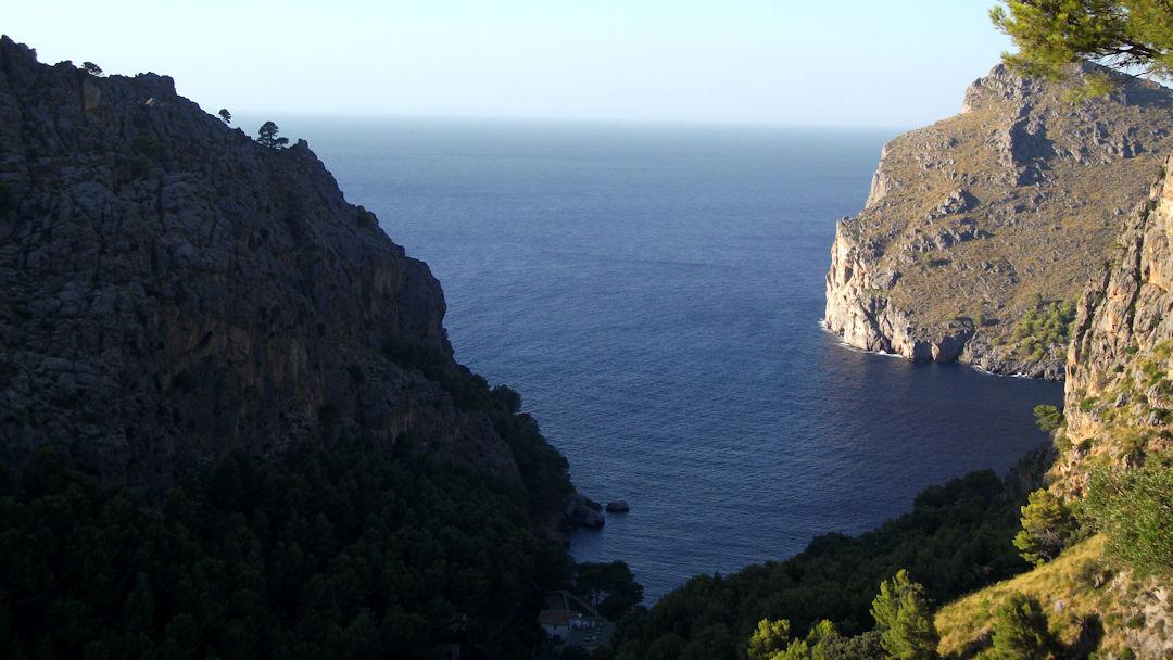 Sa Calobra : fin de l'excursion à Majorque