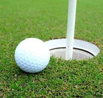 Jon Hilton likes playing golf