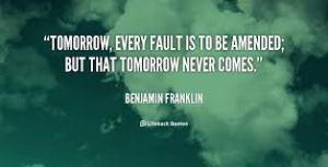 the future ben franklin