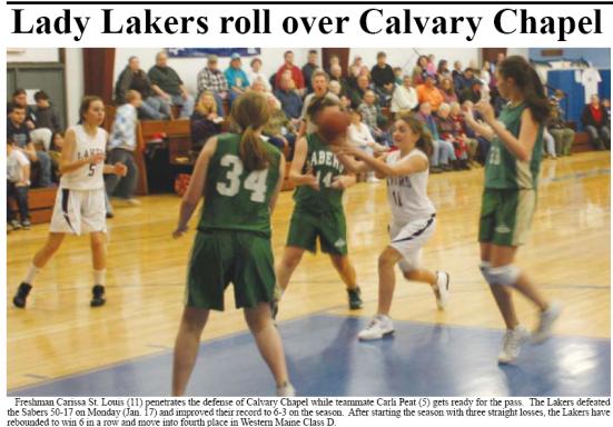 Greenville Girls Basketball vs Calvary Christian