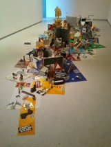 This was a particularly photoworthy floor sculpture at the Auckland Art Gallery.