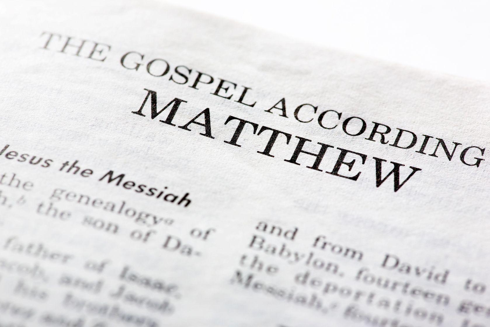 writer of matthews gospel
