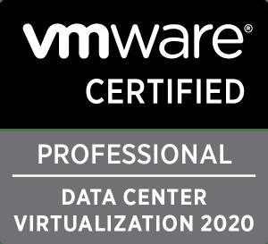 VMware Certified Professional Data Center Virtualisation 2020
