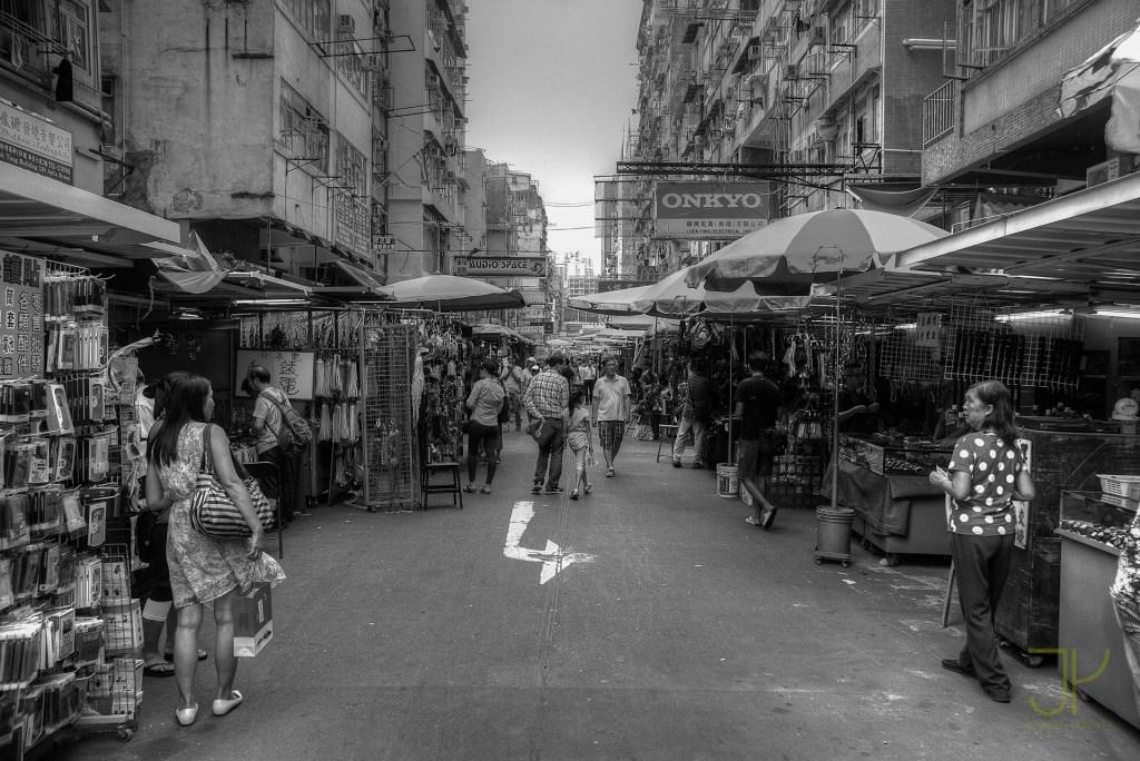 Vendors in Sham Shui Po