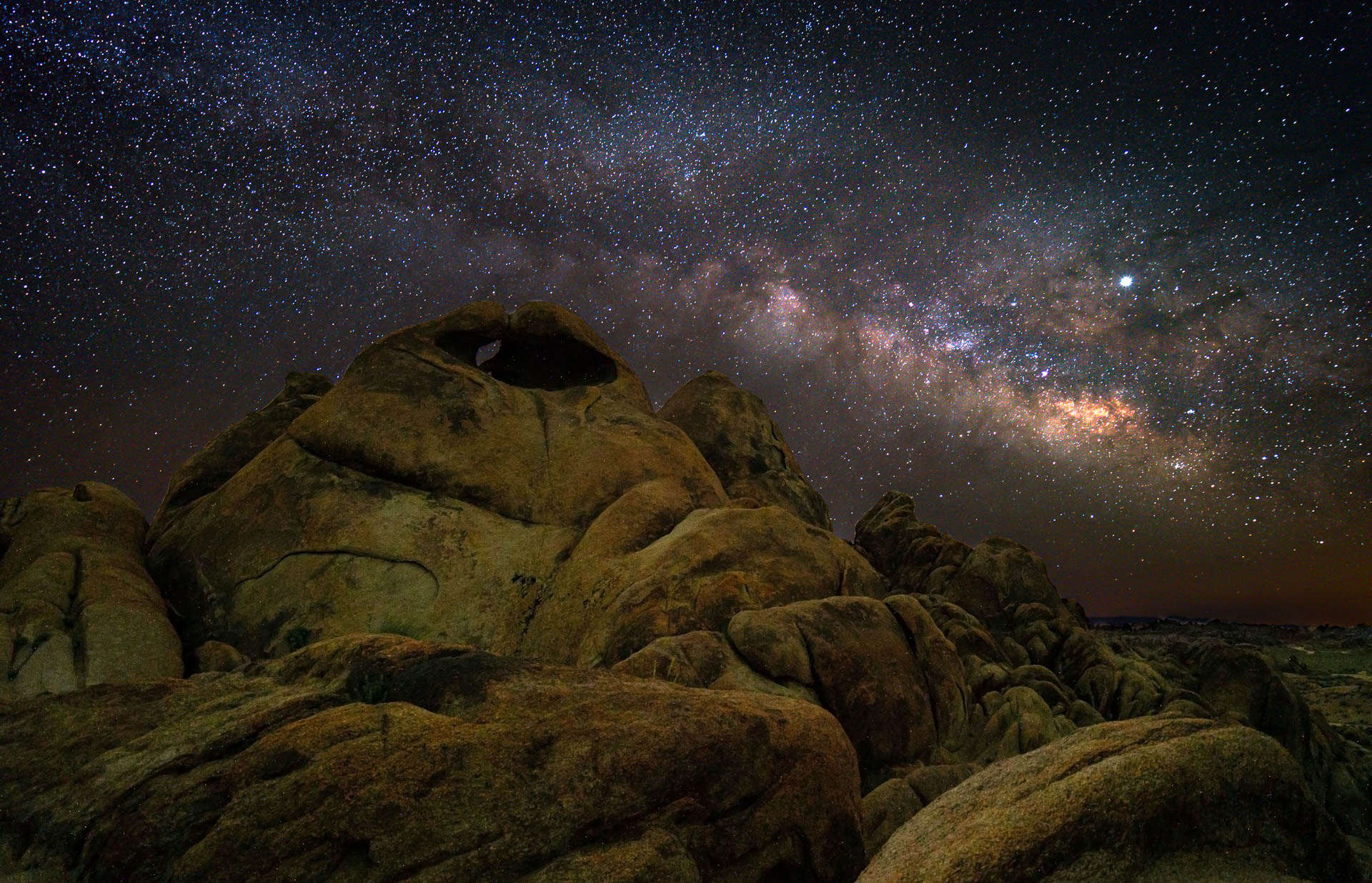 Alabama Hills Milky Way