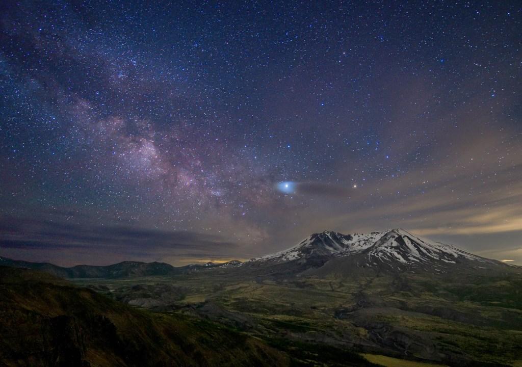 Mount St. Helens Milky Way