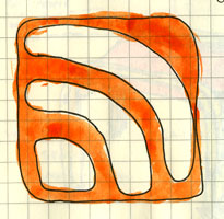 rss icon drawing