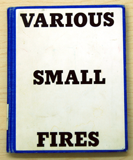 Various Small Fires by Ed Ruscha, 1964
