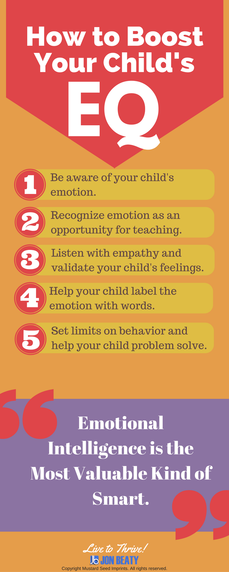 How to Boost Your Child's Emotional Intelligence