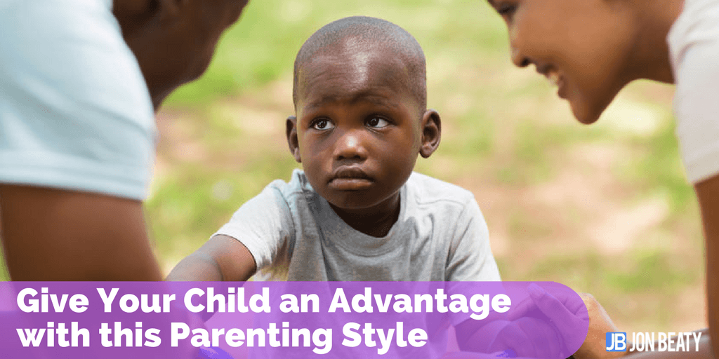 Give Your Child an Advantage with this Parenting Style