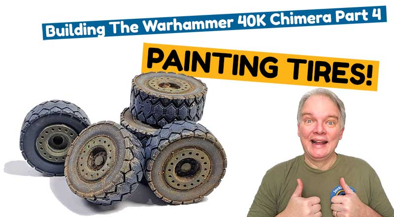 Painting tires is fun and easy!