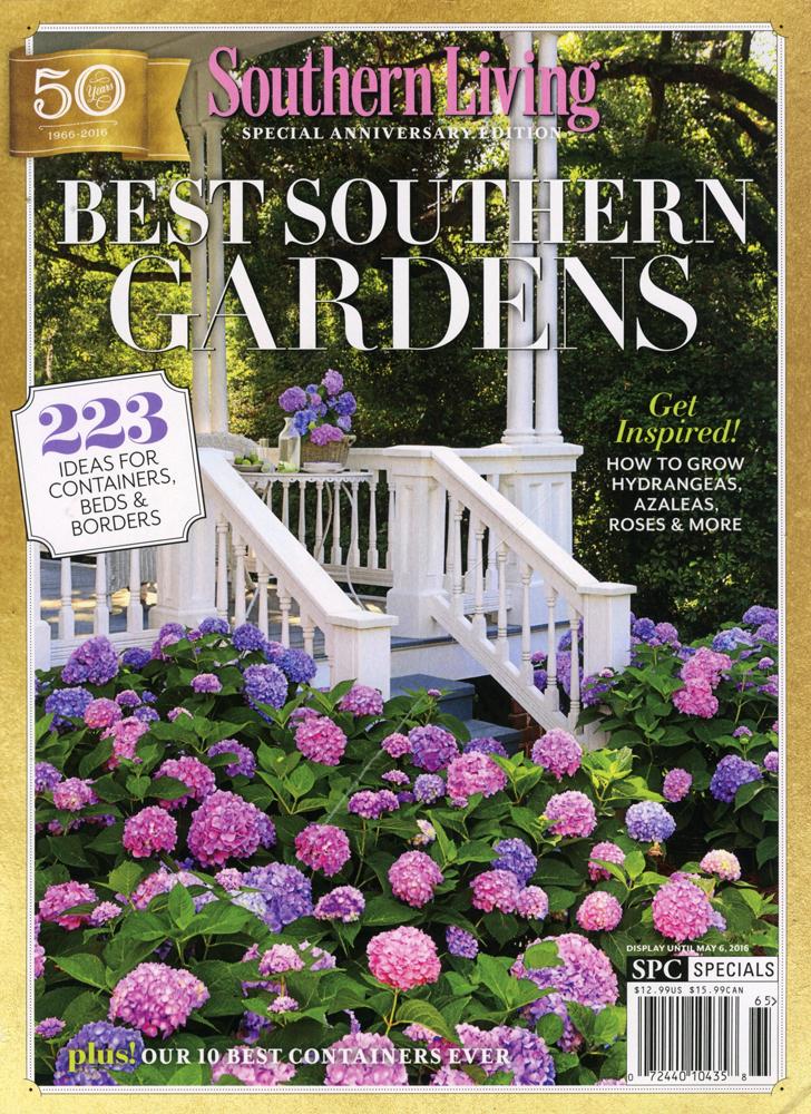 50th anniversary of southern living magazine jon for Anniversary magazine