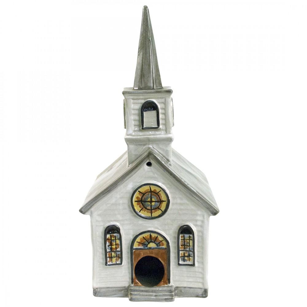 White Church Birdhouse