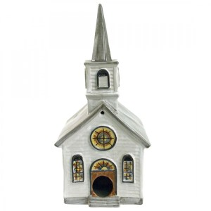 White Church Birdhouse