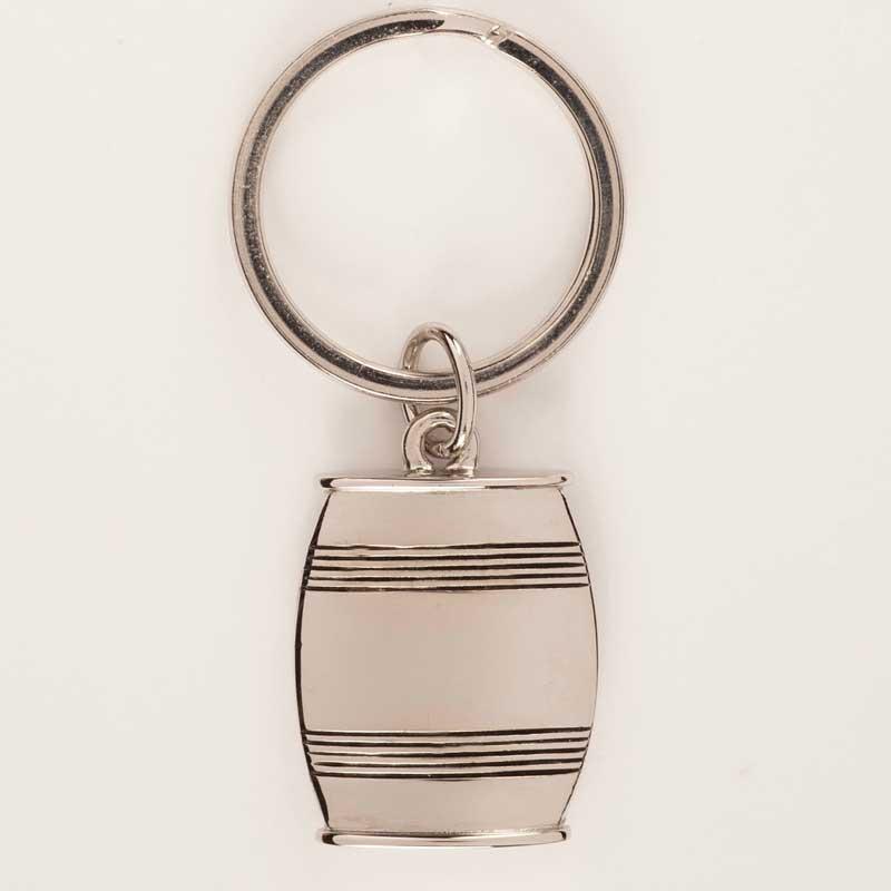 Asa Pewter Barrel Key Ring