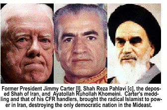 How Carter replaced the Shah Islamo-nazi Khomeini