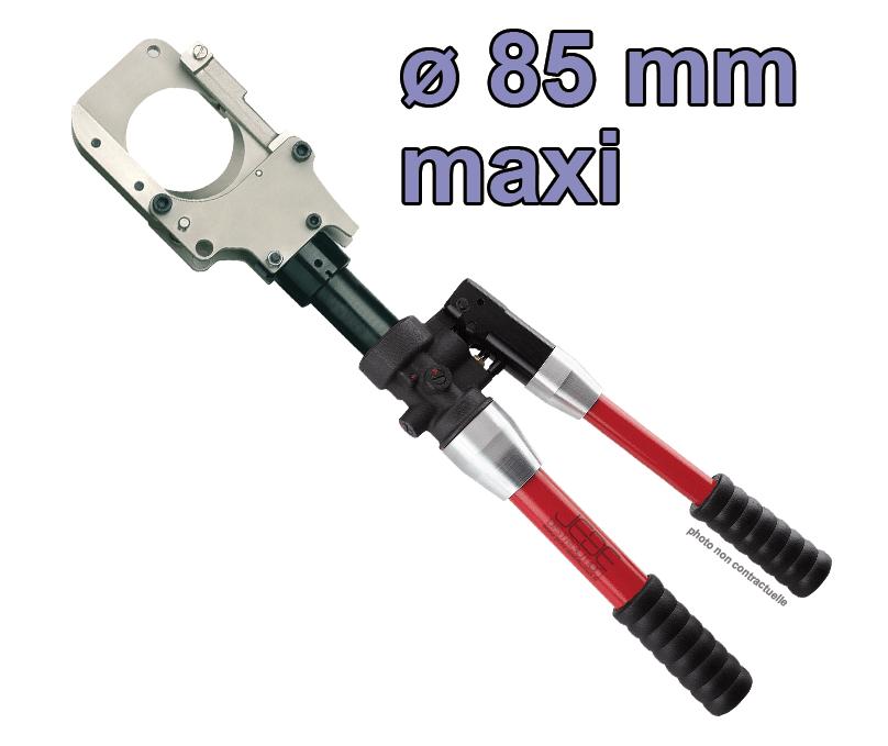 cisaille coupe cable hydraulique o 85 mm maxi cimco 105510