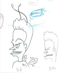 Beevis sketch