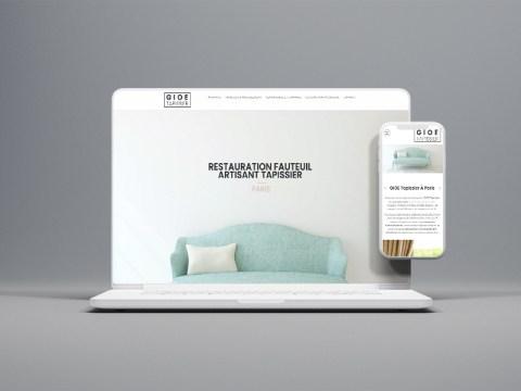 site-tapissier-decorateur-gioe-paris-agence-communication-jones-and-co-conception-site-internet