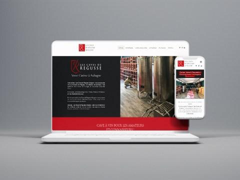 creation-site-internet-cave-vin-Caves-de Regusse-aubagne-agence-communication-marseille-jones-and-co
