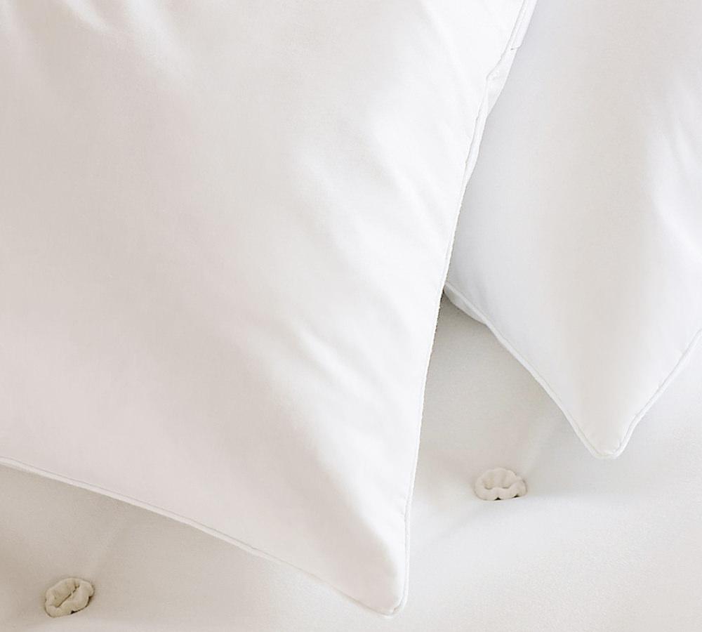 vispring classic duck feather and down pillow