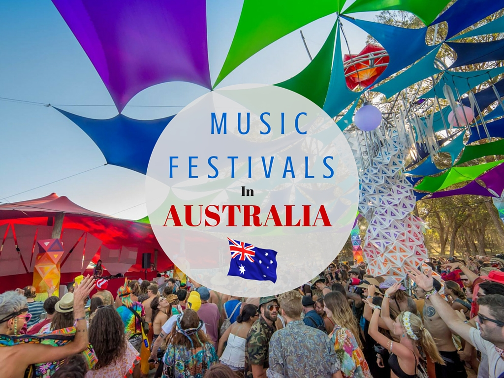 30 Music Festivals In Australia To Experience Before You